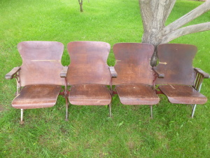 Historic Escalante Showhouse Seating - Circa 1938